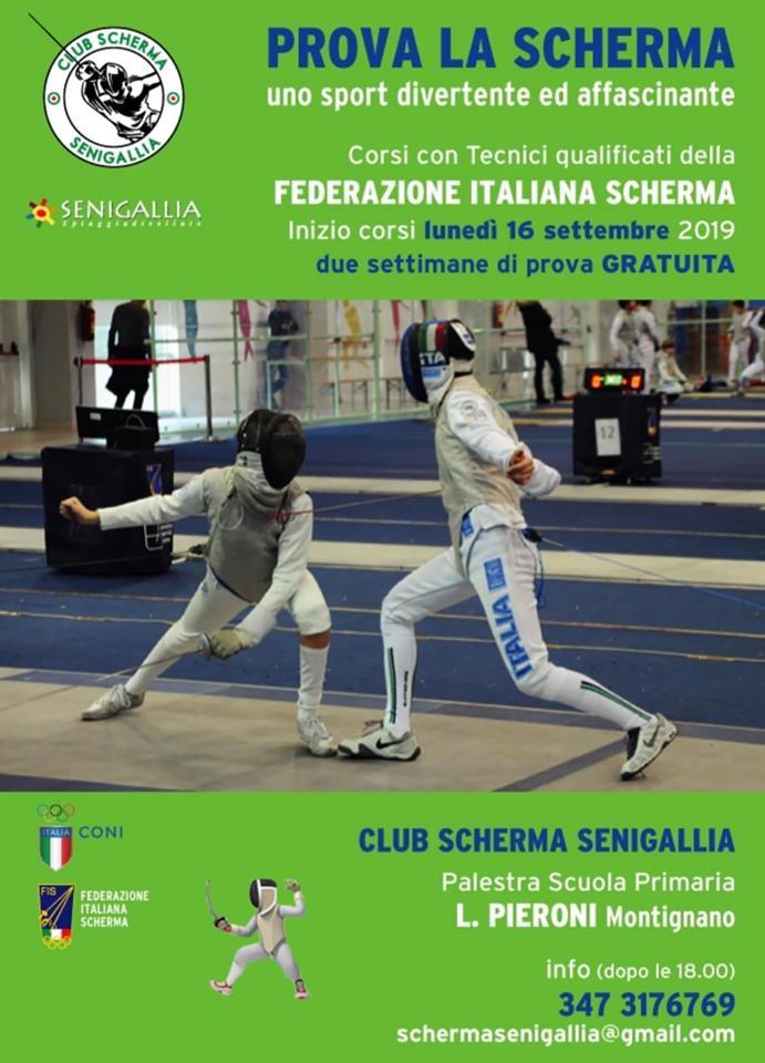 Federazione Italiana Scherma Calendario Gare.Club Scherma Montignano Marzocca Senigallia